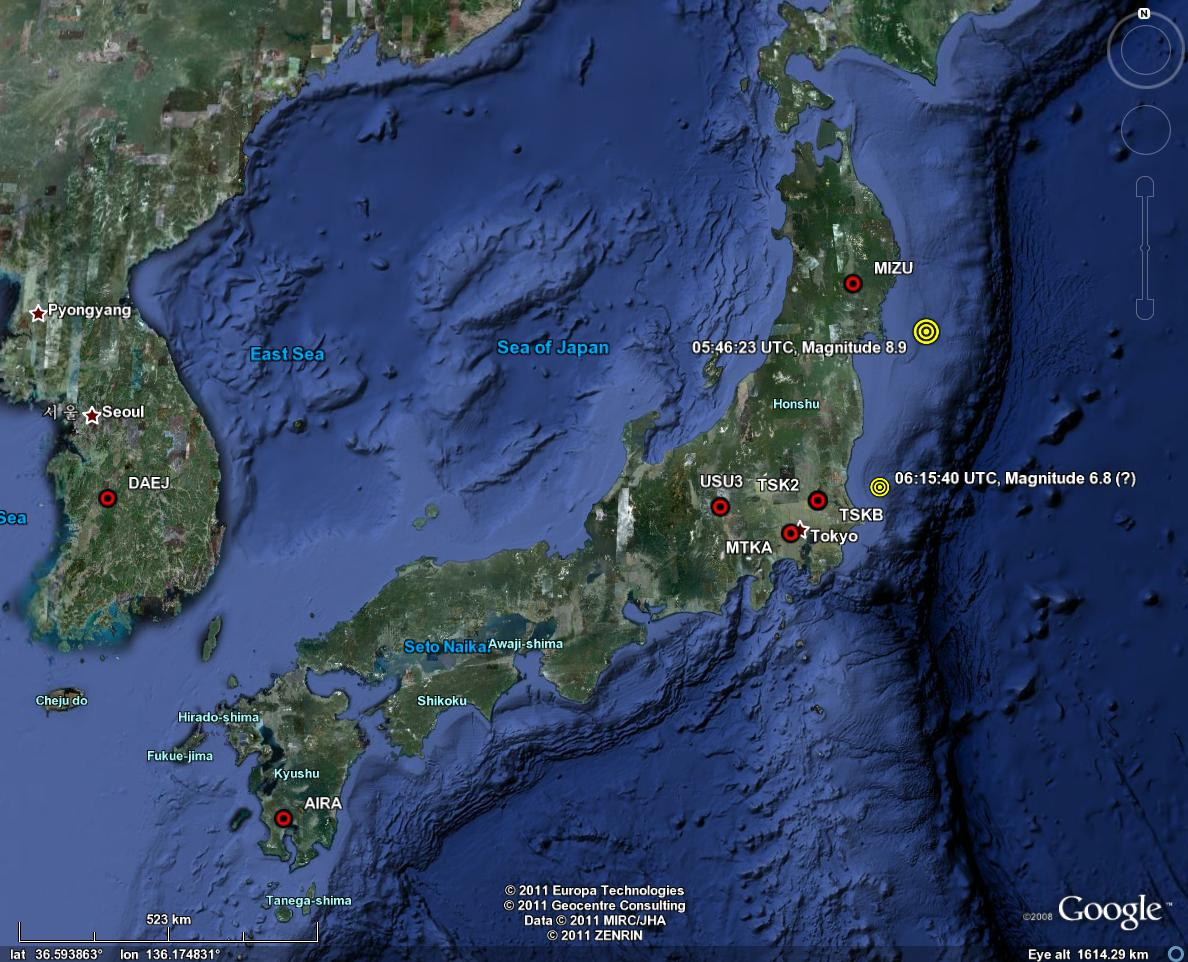 Tohoku oki earthquake sendai 2011 mar 11 054623 utc earthquake kinematic gps solutions will be updated as new results are processed last modified september 04 2015 gumiabroncs Image collections